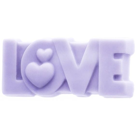 Forma para Sabonetes, Love