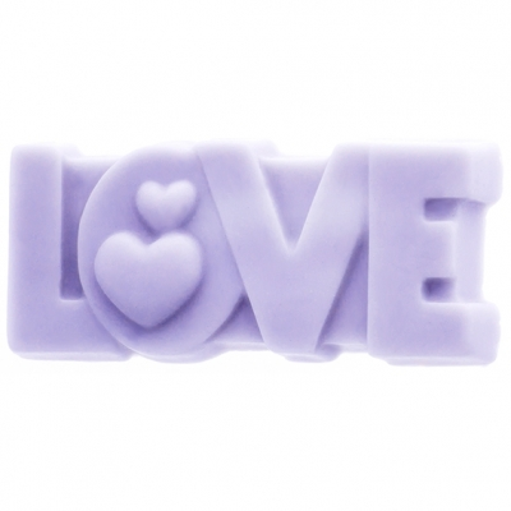 Molde jabon love