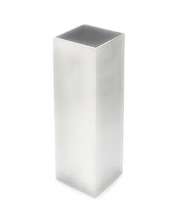 Molde cuadrado de metal para velas