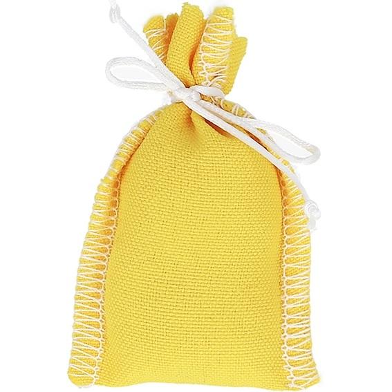 Saquinho de rituais amarelo