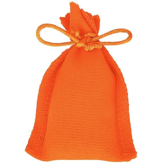 Saquinhos de feitiço laranja