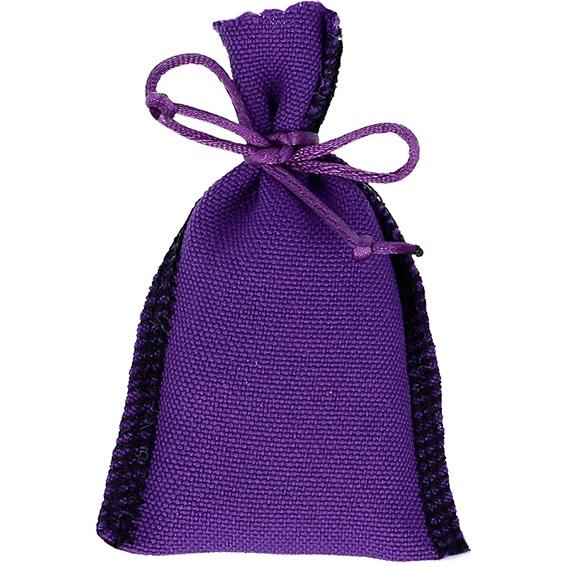 Saquinhos de conjuro violeta