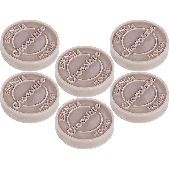 Molde pastilhas de cera aromatizada chocolate
