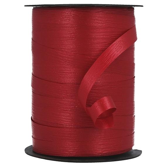 Fita decorativa vermelha brilhante