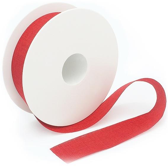 Cinta rustica algodon roja