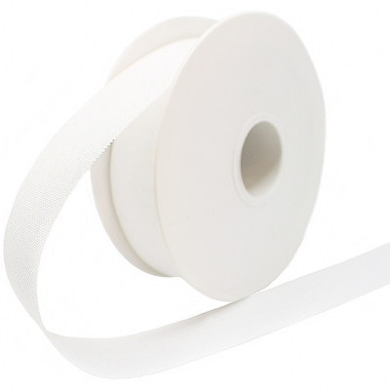 Cinta rustica algodon blanca