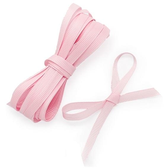 Fitas grosgrain cor-de-rosa