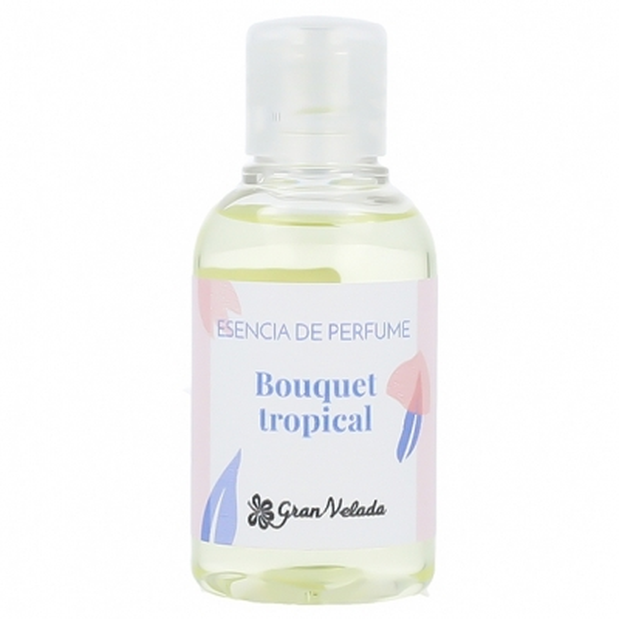 Essencia bouquet tropical para perfume