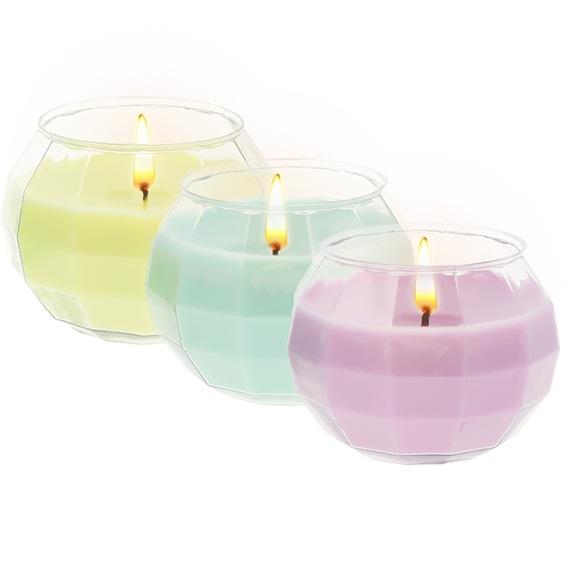 Kit como hacer velas de colores. Materiales e instrucciones