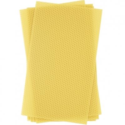 Laminas de cera de abeja virgen