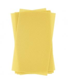 Laminas de cera de abelha virgem