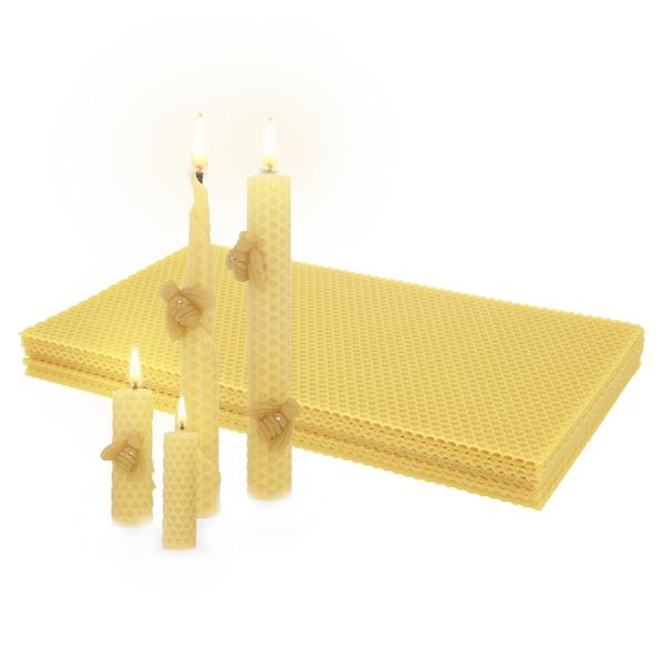 c60fd4c11d3 Laminas de cera de abeja virgen · Laminas de cera para velas ...