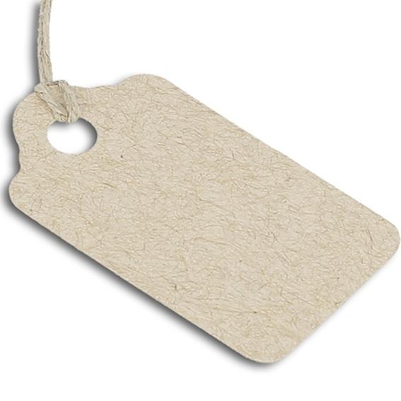 Etiquetas para presentes rectangulares