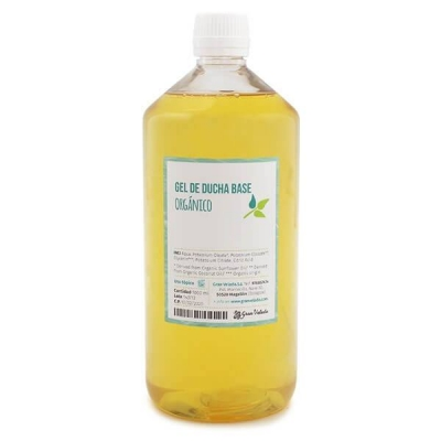 Gel de ducha base organico por mayor