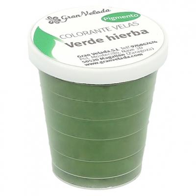 Colorante velas verde hierba pigmento