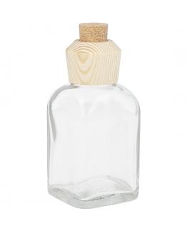 Mikados frasco 100 ml cabeçal de madeira e cortiça