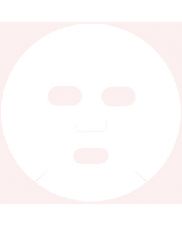 Mascarilla facial de celulosa comprimida DIY