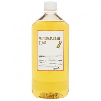 Aceite masaje base jojoba
