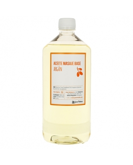 Aceite masaje base argan