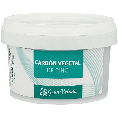 Carbon vegetal de pino
