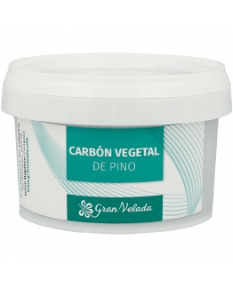Carvao vegetal de pinheiro