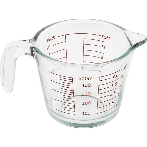 Jarra medidora cristal 500 ml