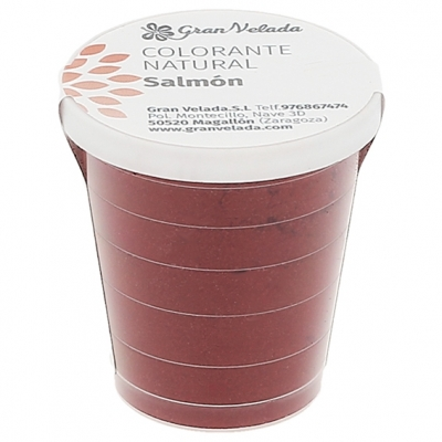 Colorante natural salmon