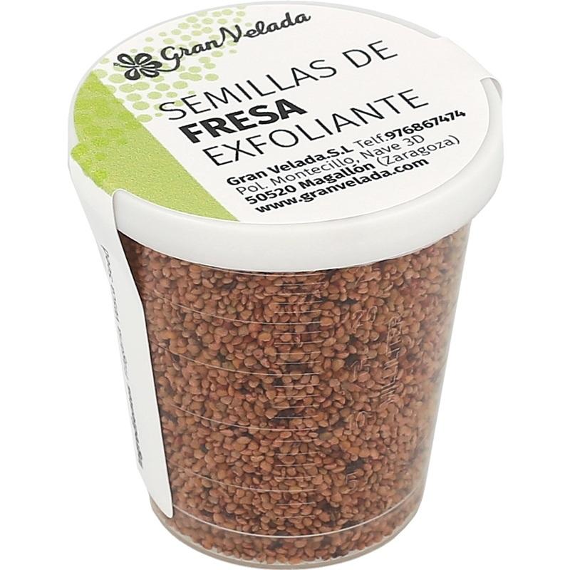 Semillas de fresa exfoliantes 1000 micras