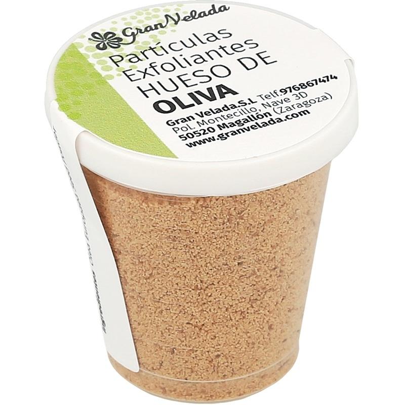 Particulas exfoliantes hueso de oliva 500 micras