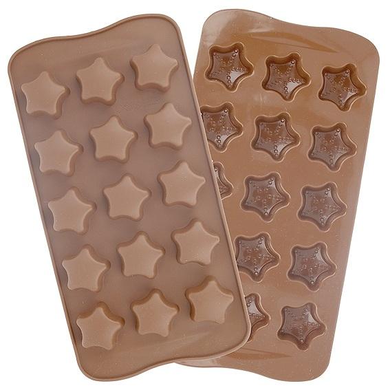 Molde para chocolate, Estrelinhas.