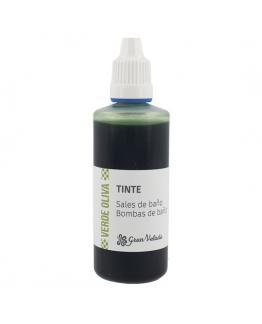 Corante verde-oliva sais e bombas de banho