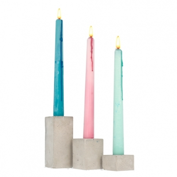 Molde para hacer candelabros