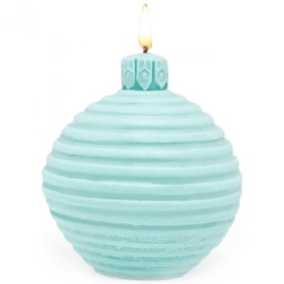 Molde bola de arbolito navideño