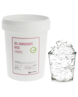 Gel hidratante base carbopol