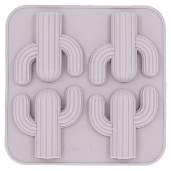 Molde silicone cactos