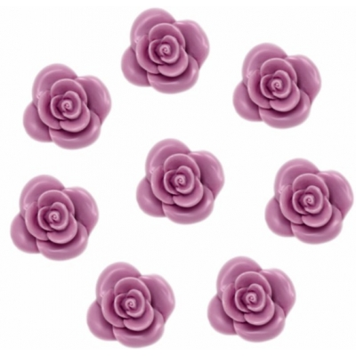 Molde 8 rosas de sabonete