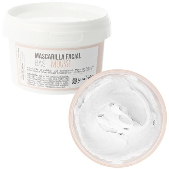 Mascara facial base mousse