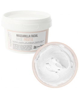 Mascarilla facial base mousse