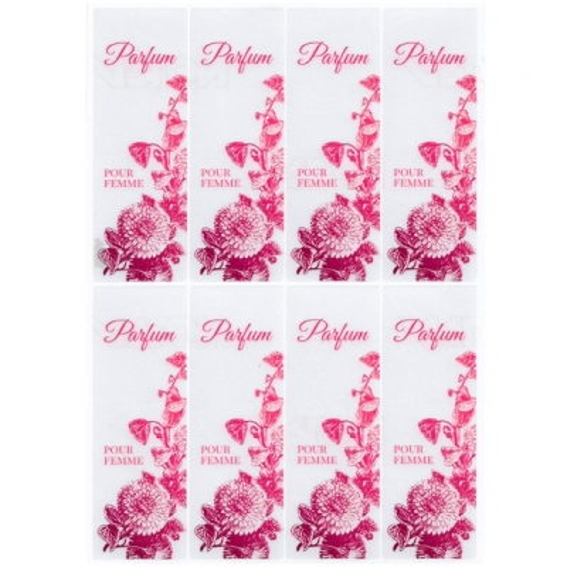 Pegatinas parfum pour femme