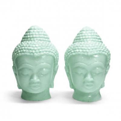 Molde Cabeças de Buda Gêmeas medianas