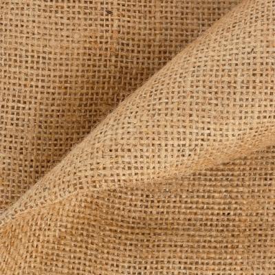 Tela de saco de arpillera marron natural