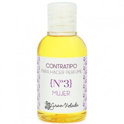 Contratipo feminino n3 Aroma de perfume