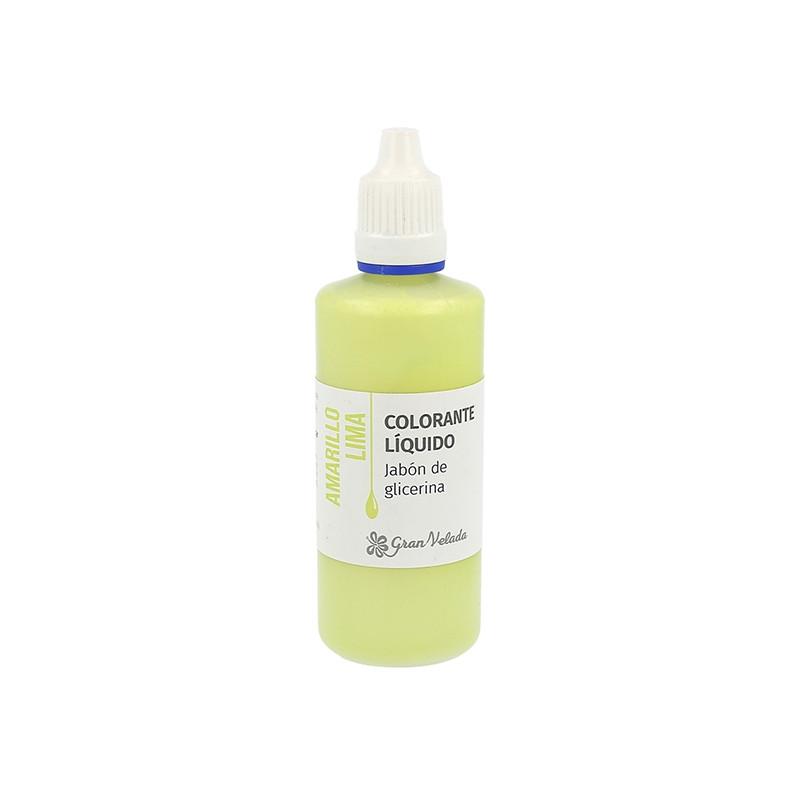 Colorante jabon glicerina amarillo lima