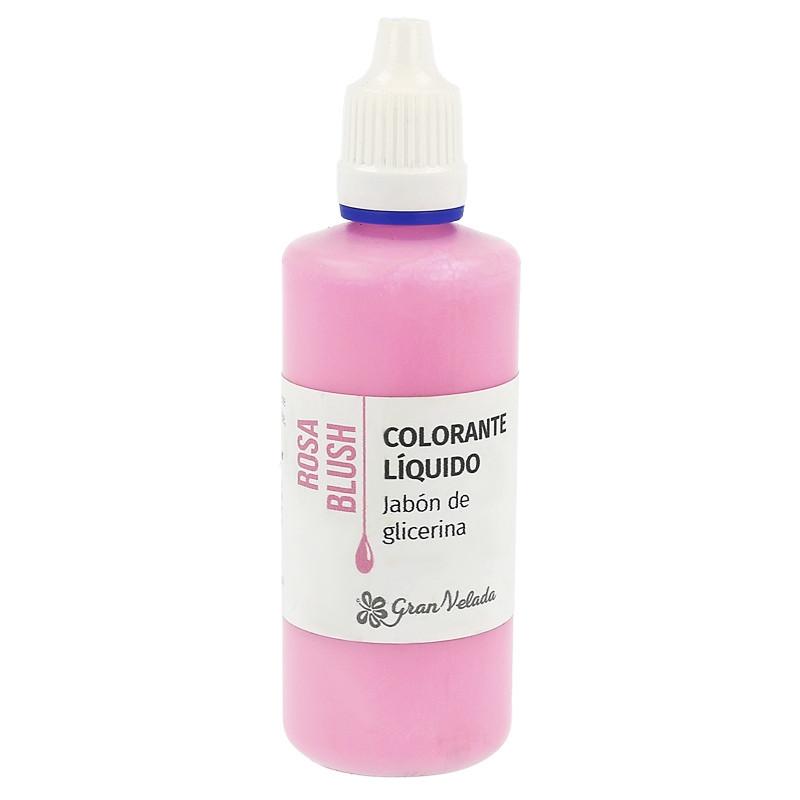 Corante sabao glicerina rosa blush