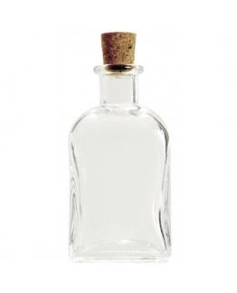 Frasco vidro 100 ml tampa cortiça