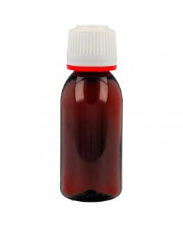 Botella pet ambar 30 ml con gotero precinto