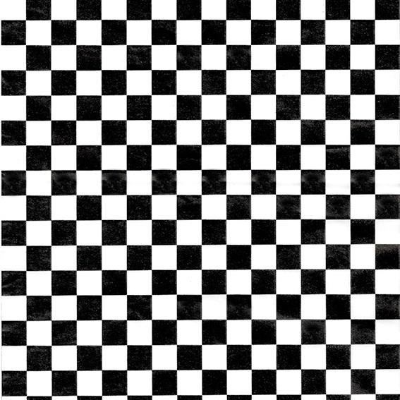 Papel encerado cuadros negros
