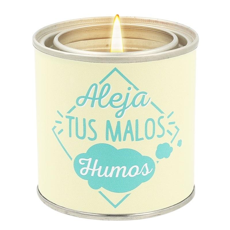 Pegatinas para velas aleja tus malos humos