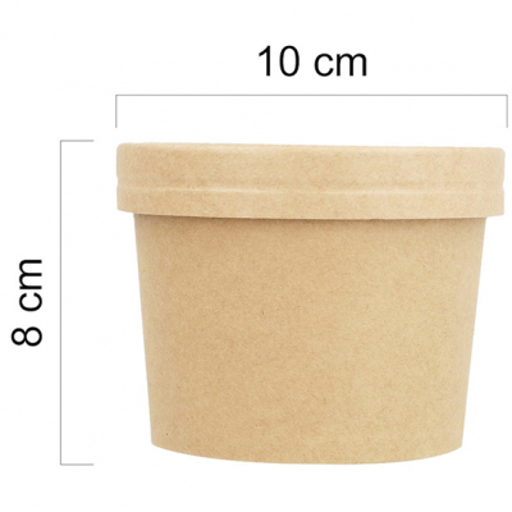 Tarrina kraft 360 ml