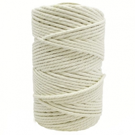 Cordon de algodon natural